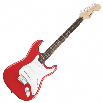 Squier Bullet Stratocaster Hard Tail Fiesta Red